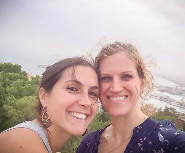 Frau Dubb und Frau Vesely